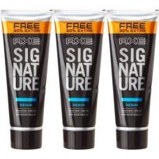 AXE Denim Shaving Cream Pack of 3  (78 g)