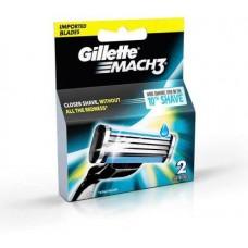 Gillette MACH 3 Cartridge  (Pack of 2)