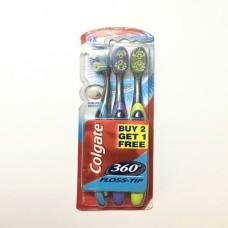 Colgate 360 Floss Tip (2+1free) Pack of 3