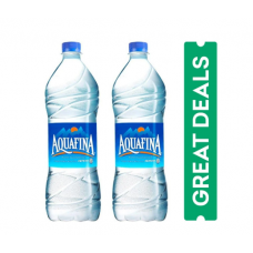 Aquafina Packaged Water 1ltr - Pack of 2