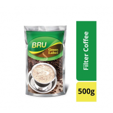 BRU Green Label Roast & Ground Coffee (Pouch) 500g