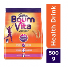 Cadbury Bournvita Chocolate Health Drink (Refill) 500g