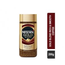 Nescafe Gold Blend Rich & Smooth Coffee (Jar) - 200g
