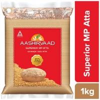 Aashirvaad Atta - Whole Wheat, 1 kg Pouch