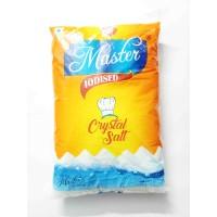 Master Iodized Crystal Salt - 1kg