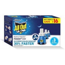 All Out Ultra Power + Slider Mosquito Repellent (2 Refill)