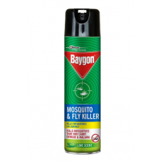 Baygon Fly Lime Scent Mosquito Killer (Spray - 400 ml)