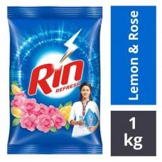 Rin Detergent Powder Refresh Lemon and rose 1kg