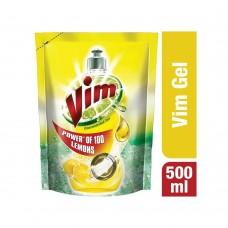 Vim Lemon Dishwash Gel (Refill) - 500ml