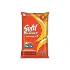 Gold winner Refined Sunflower Oil, 1Ltr