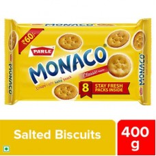 Parle Monaco Classic Regular Salted Biscuits 400 g