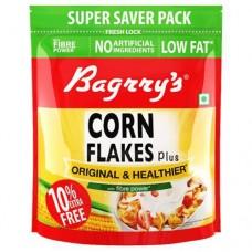 Bagrry's Original & Healthier Cornflakes Plus 800 g (Get +80 g Extra)