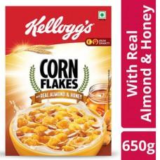 Kellogg's Corn Flakes With Real Almond & Honey 650 g