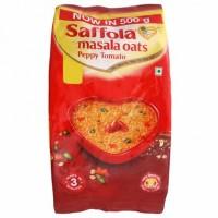Saffola Peppy Tomato Instant Masala Oats 500 g